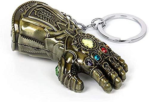 Llavero de guantelete de infinito, accesorios de guerra...
