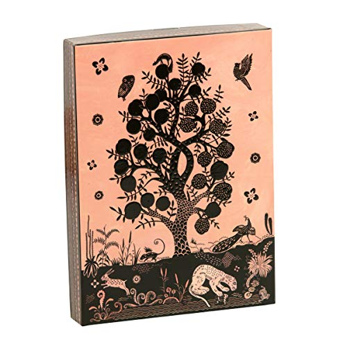 Christian Lacroix Bois Paradis Notecards: Die-Cut Notecards