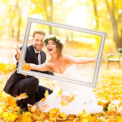 Hochzeits-Bilderrahmen | 50 x 70 weiß - 7
