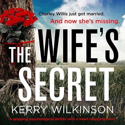 The Wife's Secret: A Gripping Psychological Thriller with a Heart-Stopping Twist audiobook cover art