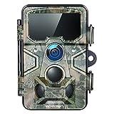 APEMAN Cámara de Caza 20MP 1080P con Tarjeta TF 16GB, Rango de detección 120 °, Lente Gran Angular de 116 °, Distancia de Disparo de 20M para Seguridad doméstica y monitoreo de Vida Silvestre