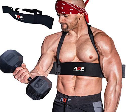 AQF Arm Blaster Aislador Biceps Levantamiento