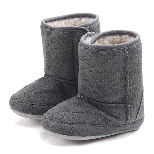 Butterme Winter Baby Stiefel Soft Sole Anti-Rutsch Mid Kalb Infant Prewalker Kleinkind Schnee Stiefel