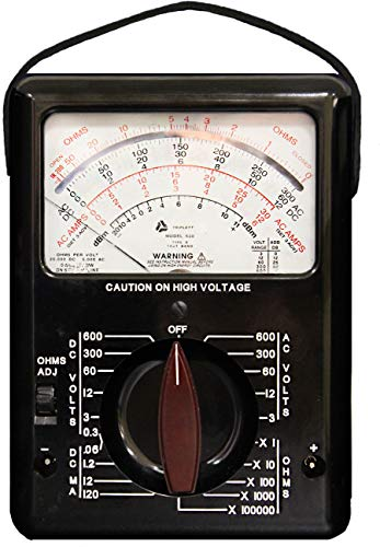 Triplett Model 630 Classic Analog Multimeter - AC/DC Voltage, DC Current, Resistance, dB Ranges (3030)