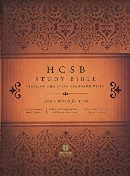 HCSB Study Bible by [Holman Bible Editorial Staff]