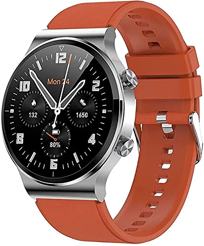 Smart Watch Male Bluetooth Call Reproductor de música con Ritmo cardíaco y monitoreo de presión Arterial Astronauta Dial Sports Watch iOS SmartWatch de Android (Color : C)