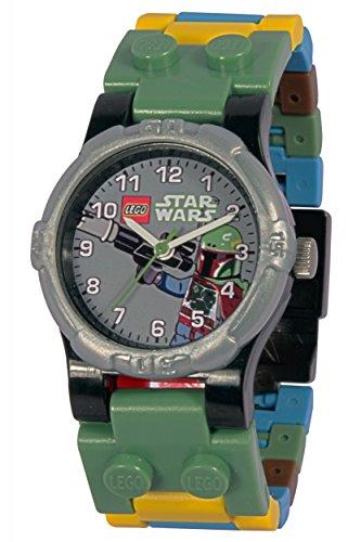 Unbekannt Clic Time CT00337 - Lego Kinderuhr Star Wars - Boba Fett