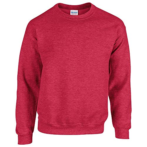 Gildan - Heavy Blend Sweatshirt - S, M, L, XL, XXL, 3XL, 4XL, 5XL /Heather Sport Scarlet Red, L