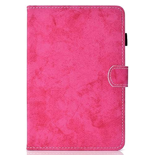 QiuKui Tab Cover For iPad Pro 11 2018, Shockproof Case PU Leather Smart Auto Sleep Case Pencil Holder Stand Flip Case For iPad Pro 11 2018 (Color : Rose)