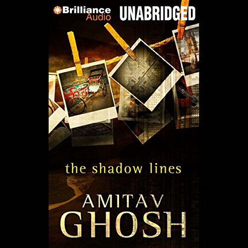 The Shadow Lines audiobook cover art