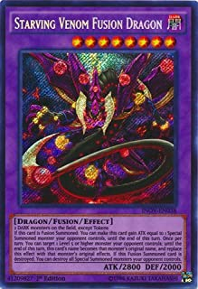 Yu-Gi-Oh! - Starving Venom Fusion Dragon (INOV-EN038) - Invasion: Vengeance - 1st Edition - Secret Rare