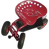 Ironton Rolling Garden Seat with Turnbar