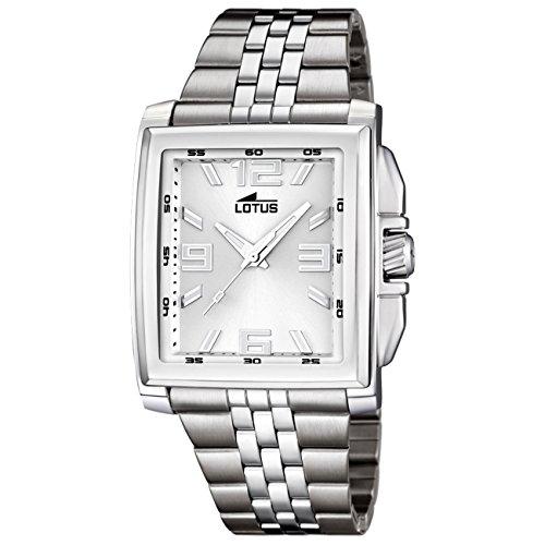 LOTUS Herren-Uhr - Stahlband klassisch - Analog - Quarz - Edelstahl - UL15994/1