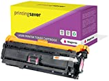 Printing Saver Compatible Magenta Toner Cartridge CE253A (504A) for HP Color LaserJet CM3530