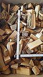 LifeStyle4All Grillholz 10Kg 20Kg 30kg Öko-Hartholz Buche Esche statt Holzkohle Briketts Grillkohle (30)