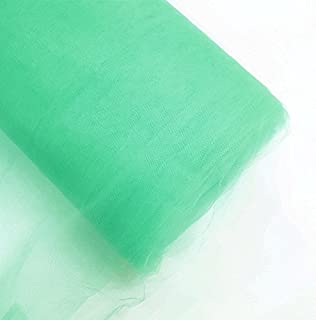 Craft and Party 54'' Tulle (Bolt 40 Yard) Fabric, Mint