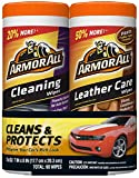 Armor All Car Cleaning and Leather Wipes - Interior Cleaner for Cars & Truck &...
