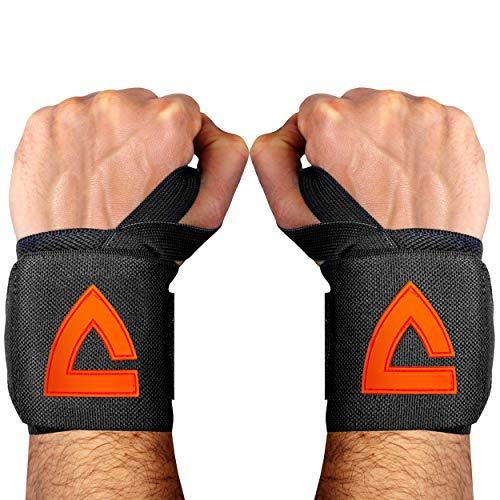 VIA FORTIS® Handgelenk Bandagen [2er Set] Wrist Wraps für maximale Stabilität & Unterstützung - Handgelenkstütze, Handgelenkbandagen für Fitness, Bodybuilding, Kraftsport & Crossfit