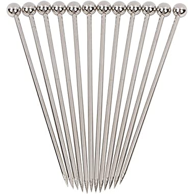 Stainless Steel Cocktail Picks - 4  (12pc Set)