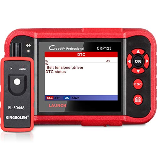 LAUNCH CRP123 OBD2 Scanner Engine/ABS/SRS/Transmission Car Diagnostic Tool ABS Code Reader SRS Scan Tool Lifetime Free Update Scan Tool