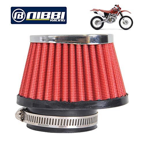 :NIBBI RACING PARTS Motorrad-Luftfilter Hochleistungsluftfilter 55mm Dirt Bike Luftfilter Kompatibel mit HATV SSR TTR Dirt Bike Pit Bike Mini Bike