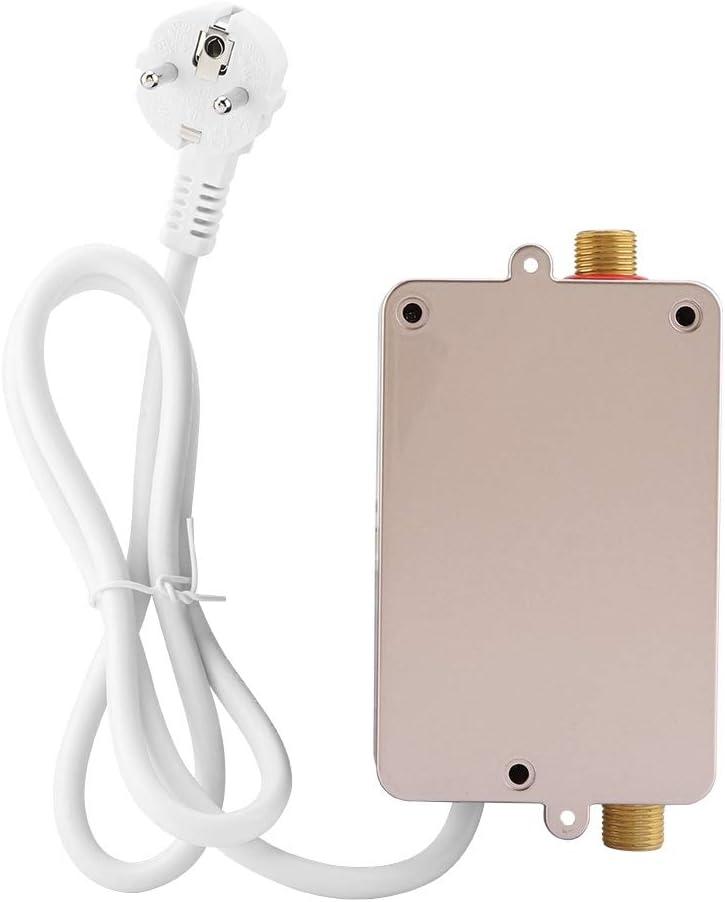 220 V 3400 Watt Mini Durchlauferhitzer Elektrische Durchlauferhitzer Elektrische Warmwasserbereiter mit Schraube und Handbuch für Home Bad Küche…
