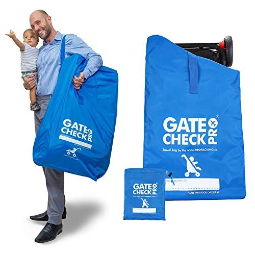 Gate Check PRO - Passeggino e Carrozzina, Taglia Unica - Borsa da Viaggio Leggero Ombrello Passeggino, Inc Mclaren