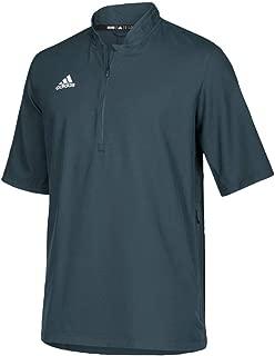 adidas Team Iconic Short Sleeve Quarter-Zip Polo - Men's Multi-Sport
