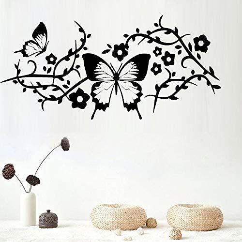 Njuxcnhg Retro Wandkunst Aufkleber Wandaufkleber PVC Material Für Wohnzimmer Schlafzimmer Home Party Decor Tapete 58X27 cm
