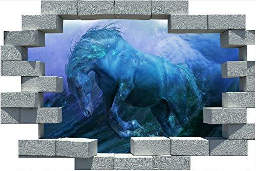 3D Papier Peint Porte Autocollant Murales Espace cadre en bois tridimensionnel girafe Affiche PVC cr/éatif Bricolage Auto-adh/ésif Murale D/écoration de porte de chambre /à coucher de salon 77x200cm