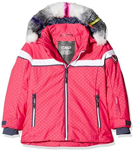 CMP Mädchen Wattierte 7000 Eco Fur Skijacke Jacke, Corallo, 164
