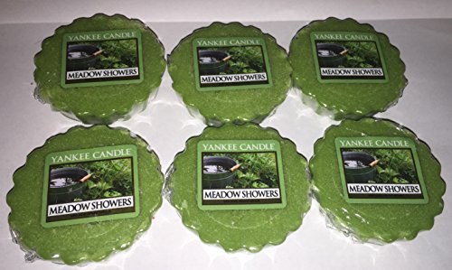 Yankee Candle Lot of 6 Meadow Showers Tarts Wax Melts