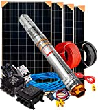 Kit Bombeo Solar 750W 1cv - Caudal Máximo. 3.200l/h Altura 80mts