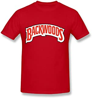 Kamachi Sachiko Mens 1280px-Backwoods (Cigar Brand) Logo.SVG.png Fashion Summer Sports T-Shirt