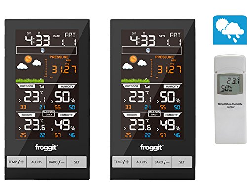 froggit Funk Thermometer WH2800 Twin (2 Displays)