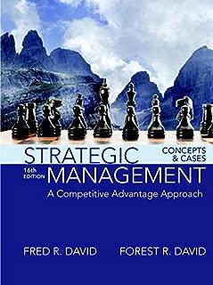 Best strategic management fred david Reviews