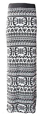 OgLuxe Women Elasticated Gypsy Long Printed Ankle Boho Maxi Skirt