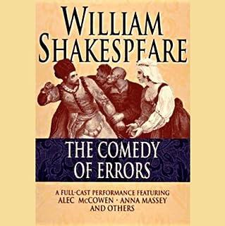 Comedy of Errors cover art