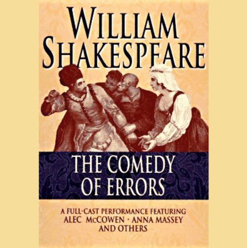 Comedy of Errors audiobook cover art