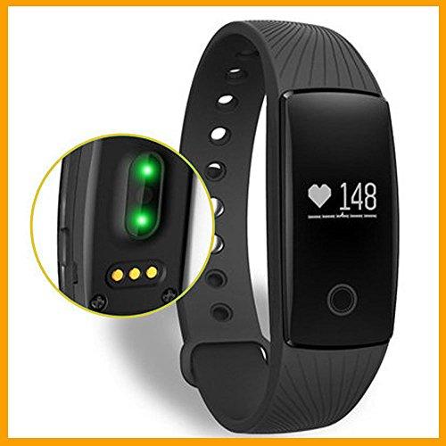 handis Fitnessarmband,Fitness-Tracker Activity Tracker Sport-Armband mit Schrittzähler,Herzfrequenz-Monitor, Schlafanalyse