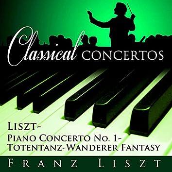 Piano Concerto, No. 1 - Totentanz-Wanderer Fantasy