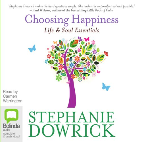 Choosing Happiness audiobook cover art