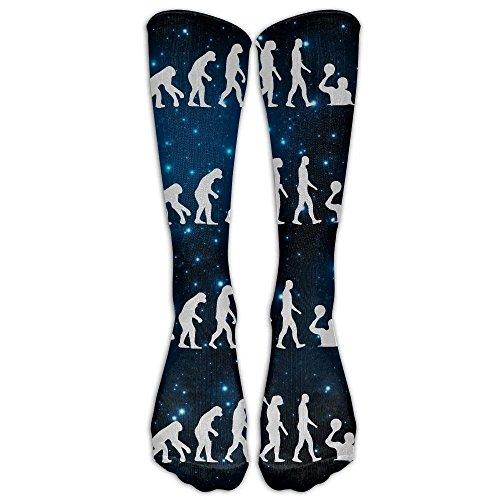 xinfub Evolution Unisex Socken mit Wasserpolo, kniehoch, Einheitsgröße, 50 cm, 7036