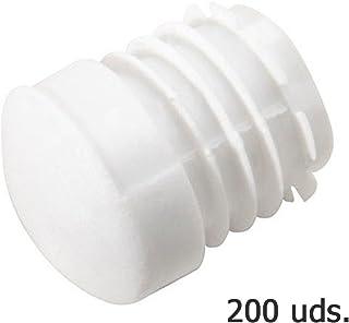 Wolfpack 5330414 Pack de 200 conteras redondas para interior (plástico, 28 mm) color