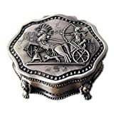 LXDDP Joyero, Princess European Joyero Flannel Hand Jewelry Storage Storage Box Jewelry Box Ring Box Regalo cumpleaños