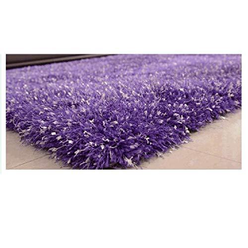 APcjerp Simple Home Sala Gruesa Alfombra de Pelo Largo y Sedoso Sofá mesita de Noche Dormitorio Almohadilla de alfombras (Tamaño: 1,2 * 1,7 m) Hslywan (Size : 1.2 * 1.7m)