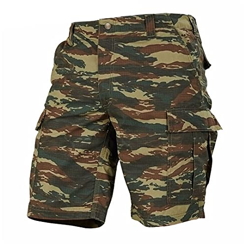 Hombres Camuflaje Tallas Grandes Pantalones Deportivos Ejército Militar Sólido Recto Todo-fósforo Deportes Moda Camouflage Green XXL