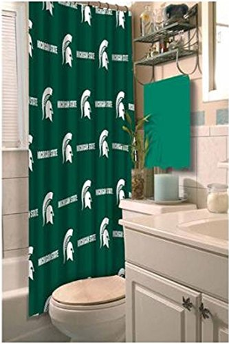 The Northwest Company NCAA Michigan State Spartans Shower Curtain