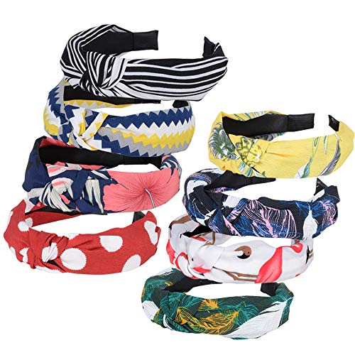 8 Pack Knot Headbands - Vintage ...