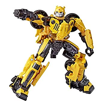 Transformers Toys Studio Series 57 Deluxe Class Bumblebee Movie Offroad Bumblebee Action Figure – Adults and Kids Ages 8 and Up 4.5-inch